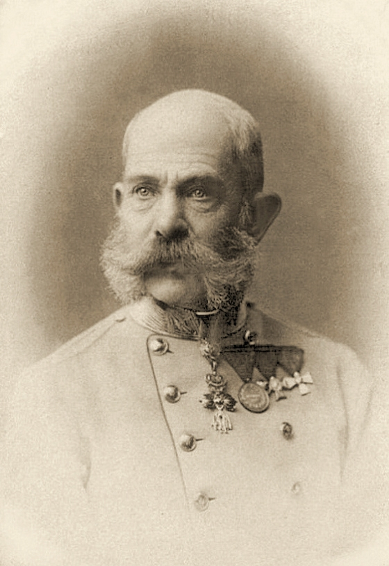 Franz Joseph I in 1898.